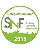 Homeflex SNF keurmerk 2019